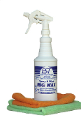 HALF PRICE! Spray and Wipe Rig Wax 12 Quart Case